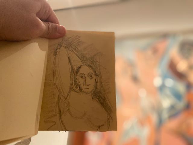 """""""Flores""""Retrato Falado 1"""", Justino, fotografia digital, 2019."""