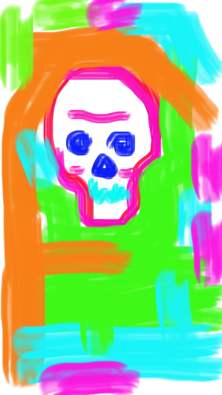 Memento Mori - 7, Justino, iPhone, 2020.