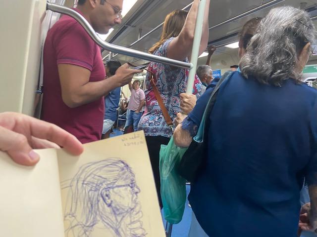 Série: No metrô –18