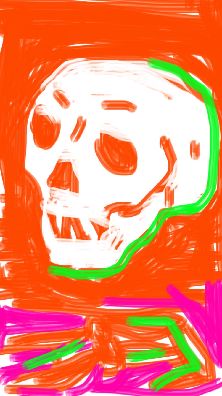 Memento Mori - 6, Justino, iPhone, 2020.
