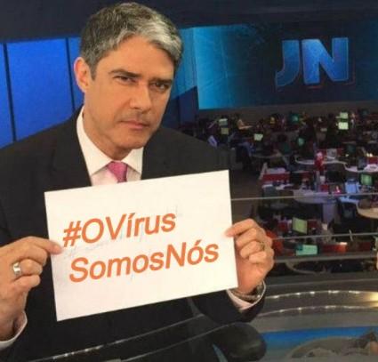 #OVírusSomosNós – TVGlobo