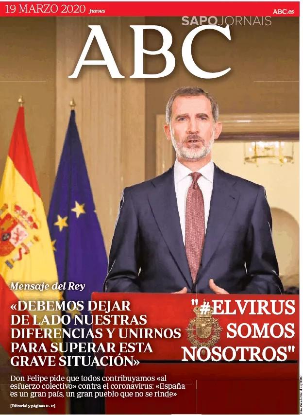 ElVirusABC, Justino, 2020.