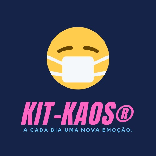 Logotipo KIT-KAOS, Justino, logotipo digital, 2020.